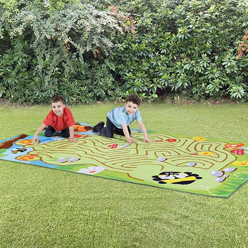 Back to Nature™ Bee Maze Outdoor Mat