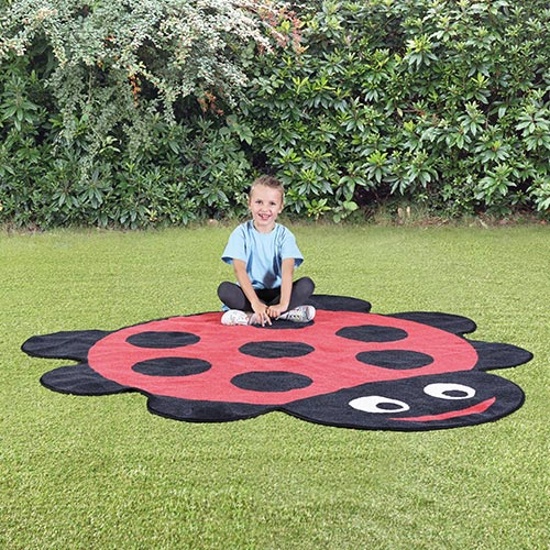 Back to Nature™ Ladybird Shaped Outdoor Mat