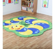 Back to Nature™ Giant Alphabet Caterpillar Shaped Carpet