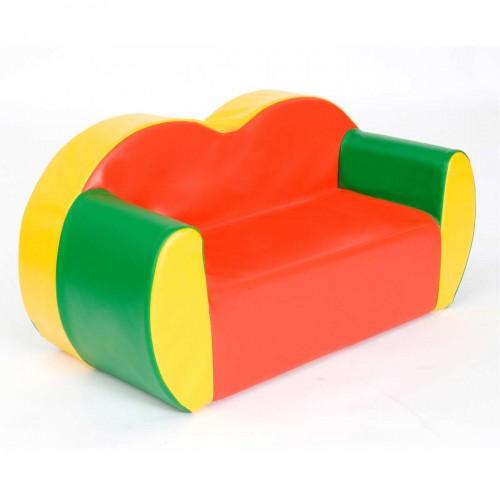 2 Seat Block Colours Sofa
