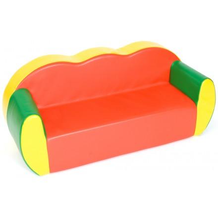 3 Seat Block Colours Sofa