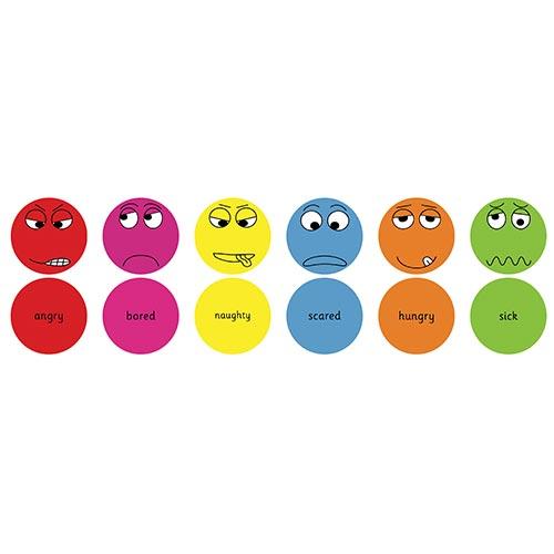 English Emotions™ Cushions Pack 2