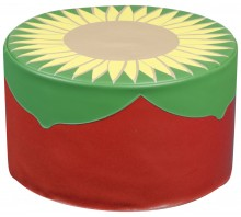 Back to Nature Sunflower Pouf