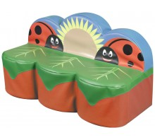 Back to Nature Ladybird 3 Seat Sofa