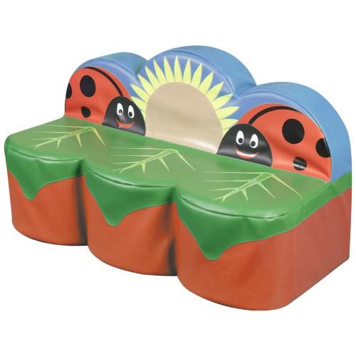 Back to Nature Ladybird 3 Seat Sofa