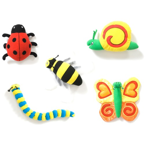 Back to Nature Bug Toys - 5 Pack