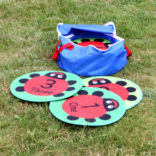 Back to Nature™ Counting Ladybird Outdoor Play™ Mats (with free holdall)