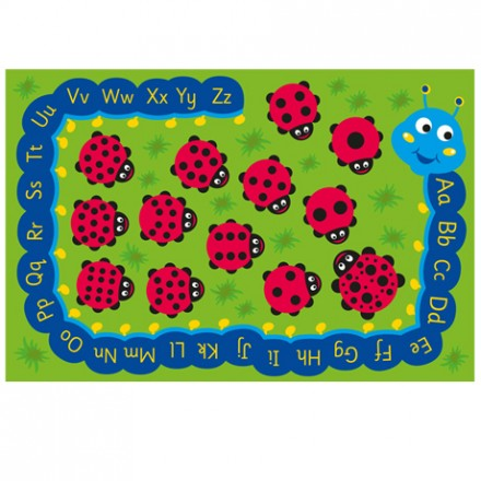 Back to Nature™ Chloe Caterpillar Numeracy & Literacy Outdoor Play™ Mat