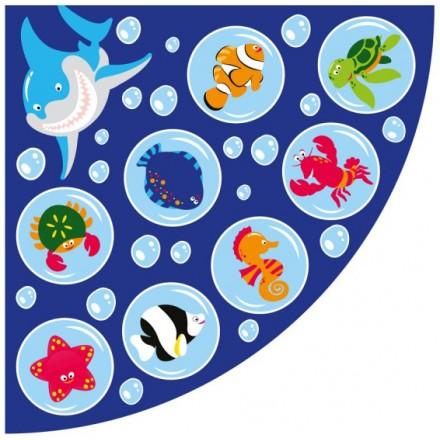 Under the Sea™ Corner Placement Carpet