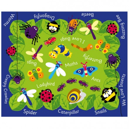 Back to Nature™ Mini Beast Outdoor Play Mat