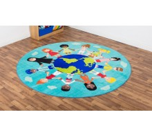 Children of the World™ Welcome Carpet - Teal