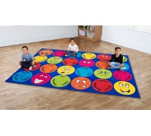 Emotions Interactive Rectangular Carpet