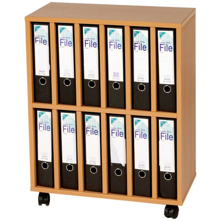 12 A4 Lever Arch File Cart