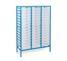 45 Slot Metal Frame Tray Storage Unit
