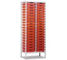 38 Slot Metal Frame Tray Storage Unit