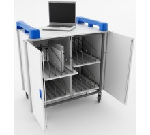 16 Bay Vertical Laptop Trolley