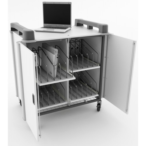 20 Bay Vertical Laptop Trolley