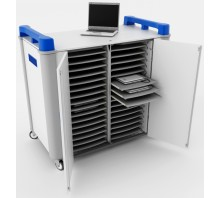 32 Bay Horizontal Laptop Trolley