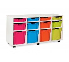 12 Variety Tray Shelf Storage Unit