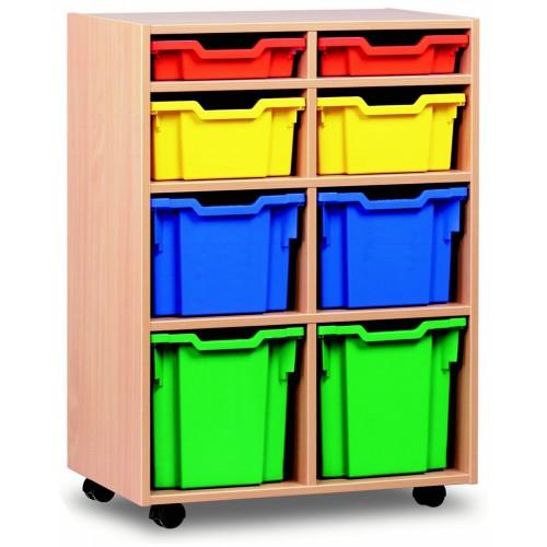 8 Variety Tray Shelf Storage Unit