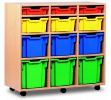 12 Variety Tray Shelf Storage Unit