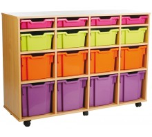 16 Variety Tray Shelf Storage Unit