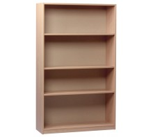Open Bookcases with Adjustable Shelves