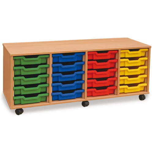 20 Slot Tray Storage Unit