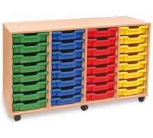 32 Slot Tray Storage Unit