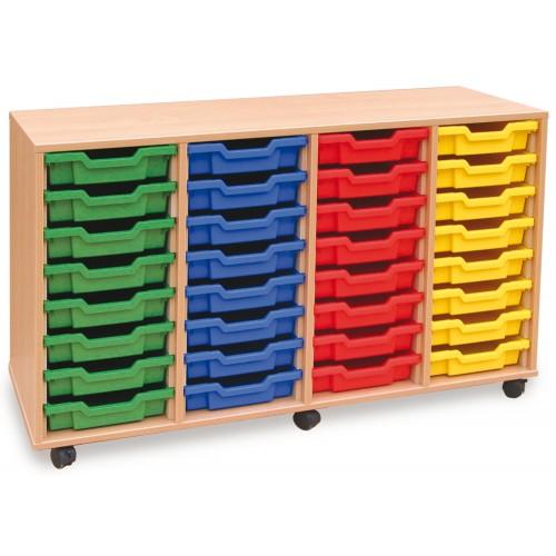 32 Slot Tray Storage Unit