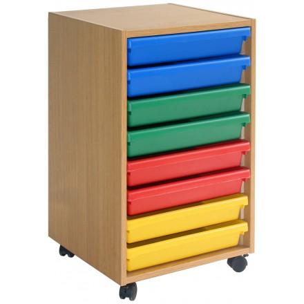 8 A3 Art Tray Storage Unit