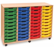 40 Slot Tray Storage Unit
