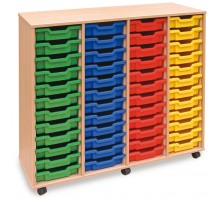 48 Slot Tray Storage Unit
