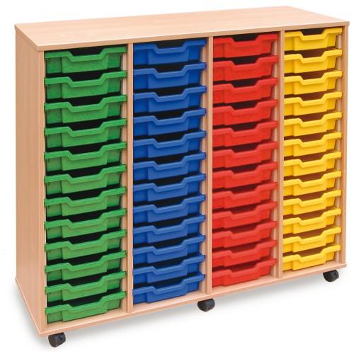 48 Slot Tray Storage Unit