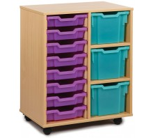11 Variety Tray Shelf Storage Unit