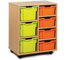 7 Variety Tray Shelf Storage Unit