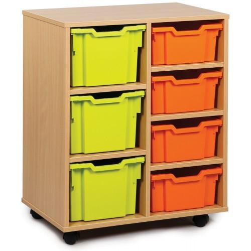 7 Variety Tray Shelf Storage Unit