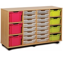 23 Variety Tray Shelf Storage Unit