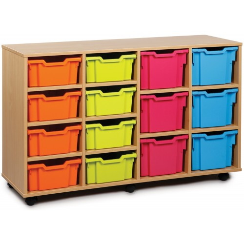 14 Variety Tray Shelf Storage Unit