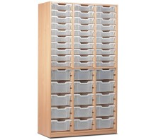 60 Slot Tray Storage Unit
