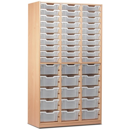 60 Slot Tray Storage Unit