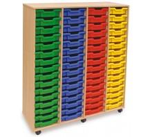 64 Slot Tray Storage Unit