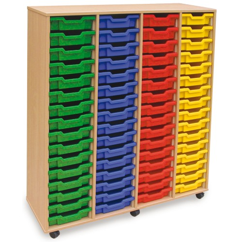 64 Slot Tray Storage Unit