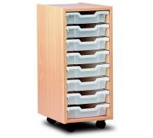 8 Slot Tray Storage Unit