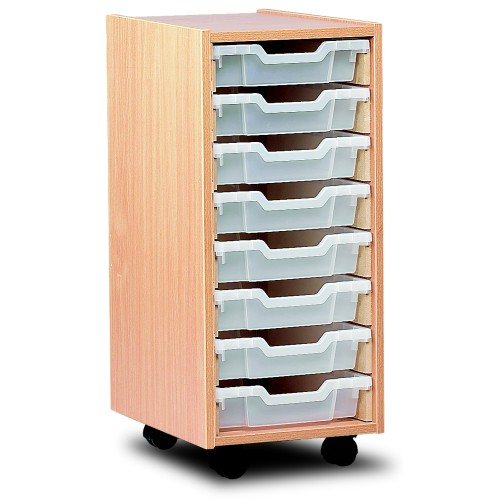 8 Slot Tray Storage Unit