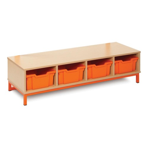 4 Compartnent Cloakroom Bottom