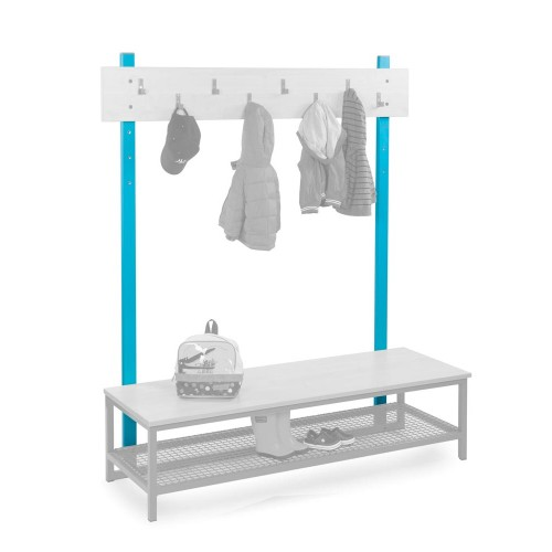 Cloakroom Upright Bars