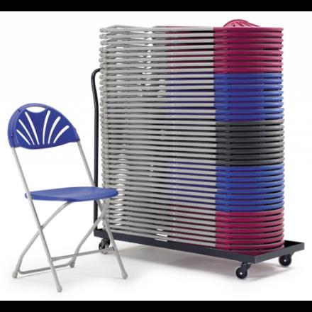 2000 Folding Chair & Transport Dolly Bundle Deal
