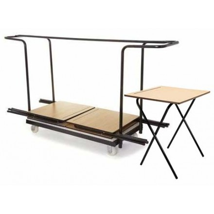 40 Exam Desks and Trolley Bundle