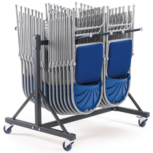 2 Row Low Hanging Storage Trolley